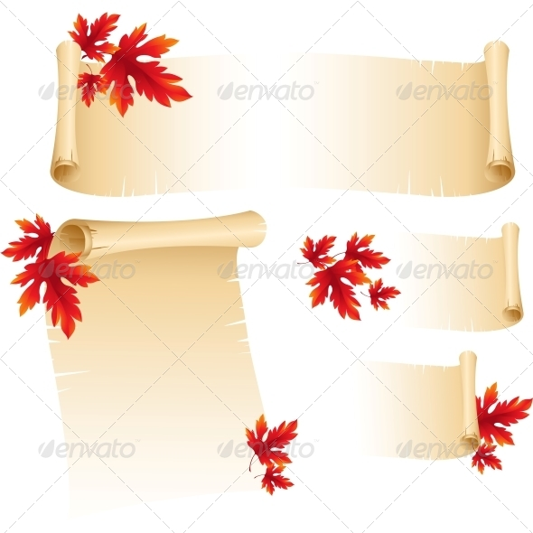 GraphicRiver Fall Leaves Abstract Background 5522359