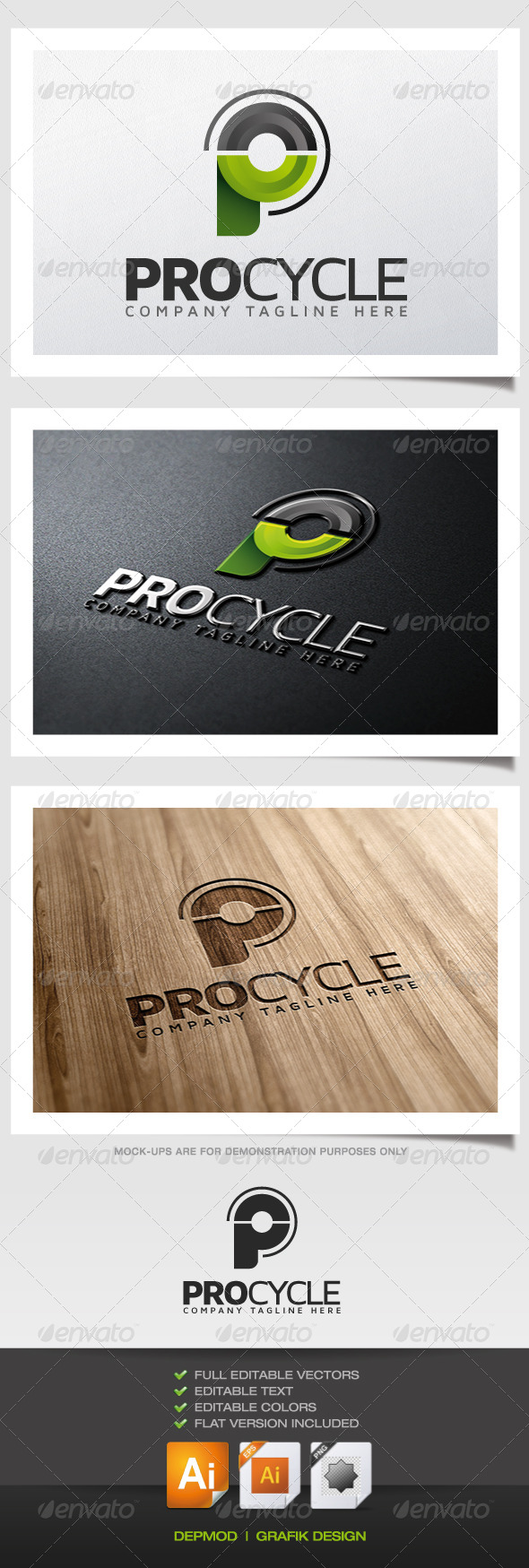 GraphicRiver Pro Cycle Logo 5522432
