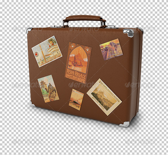 GraphicRiver old suitcase 5522600