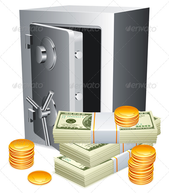 GraphicRiver Safe and Money 5522648