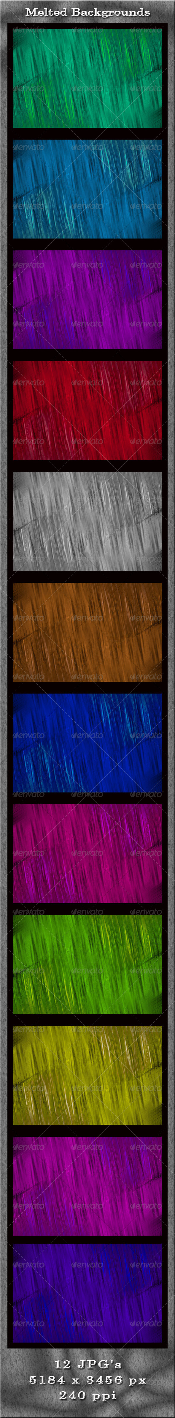 GraphicRiver Melted Backgrounds 4896166