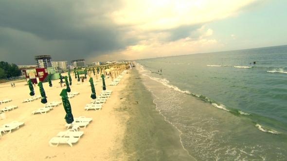 VideoHive Flying Over Seaside 3 5522789