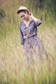 Girl On Grass In The Summer - PhotoDune Item for Sale