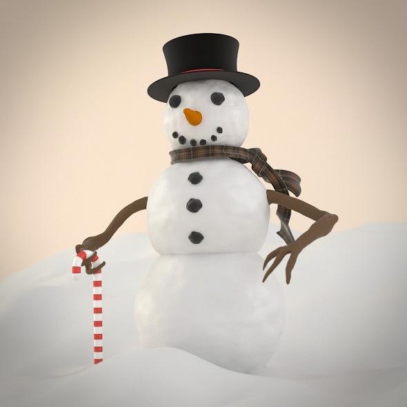 3DOcean Snowman 5522929