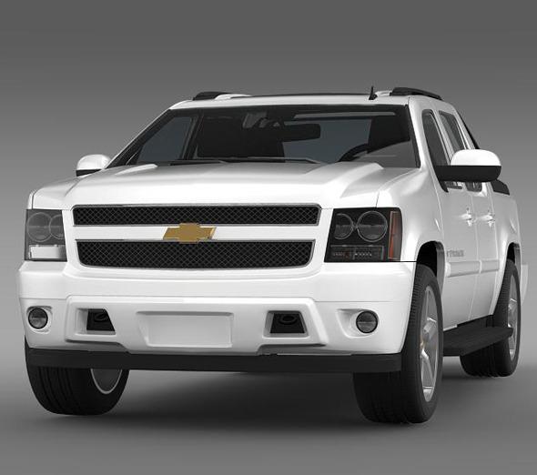 3DOcean Chevrolet Avalanche LTZ 5460052