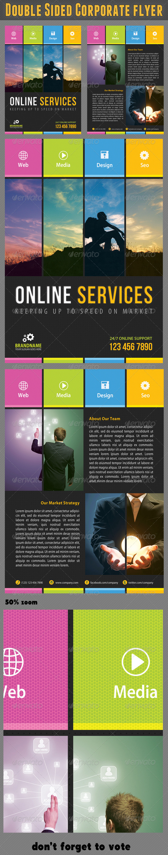 Corporate Product Flyer 18 - Corporate Flyers
