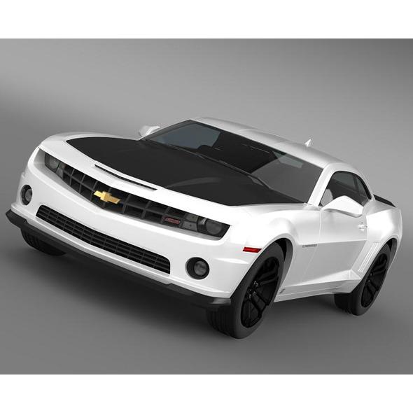 3DOcean Chevrolet Camaro 1LE 2013 5523006