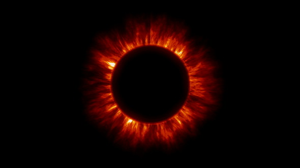 VideoHive Corona Sun 5523008