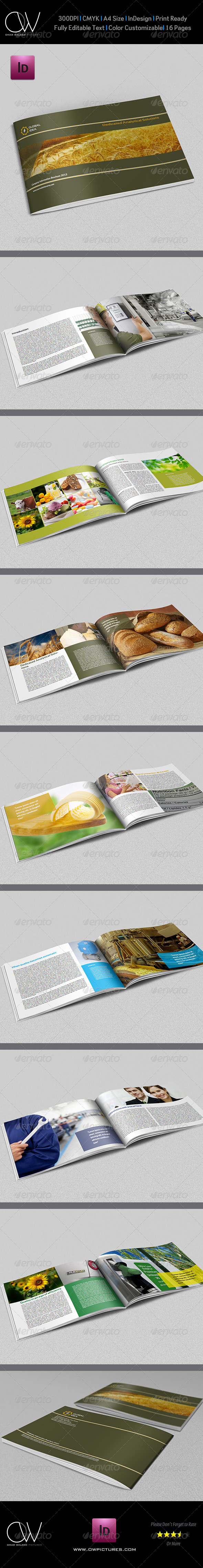 GraphicRiver Company Brochure Template Vol.6 16 Pages 5523422