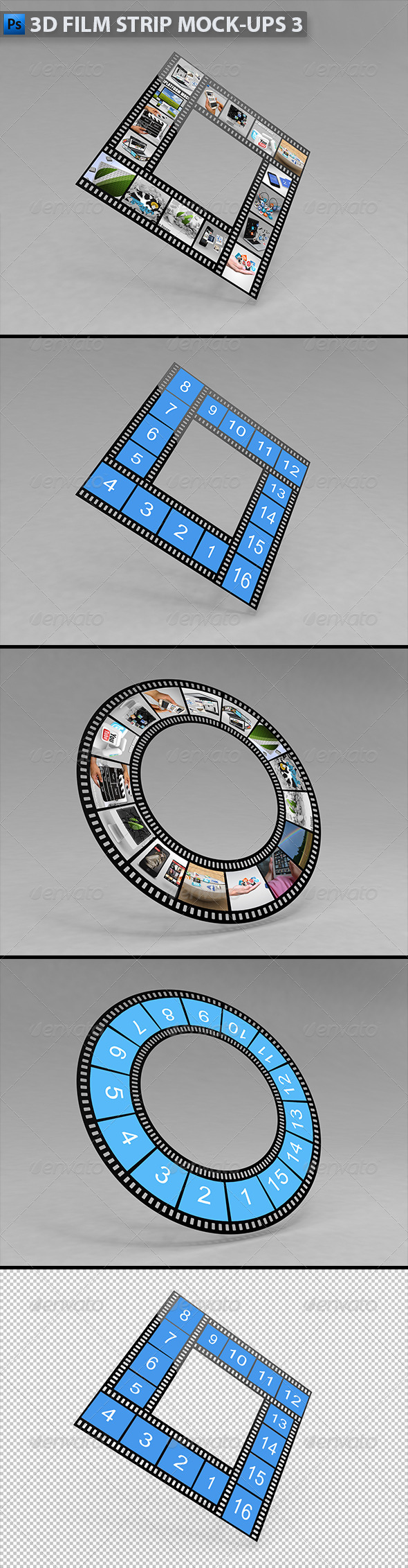 GraphicRiver 3D Film Strip Mock-ups 3 5523656