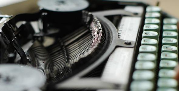 VideoHive Work At The Typewriter 2 5523767