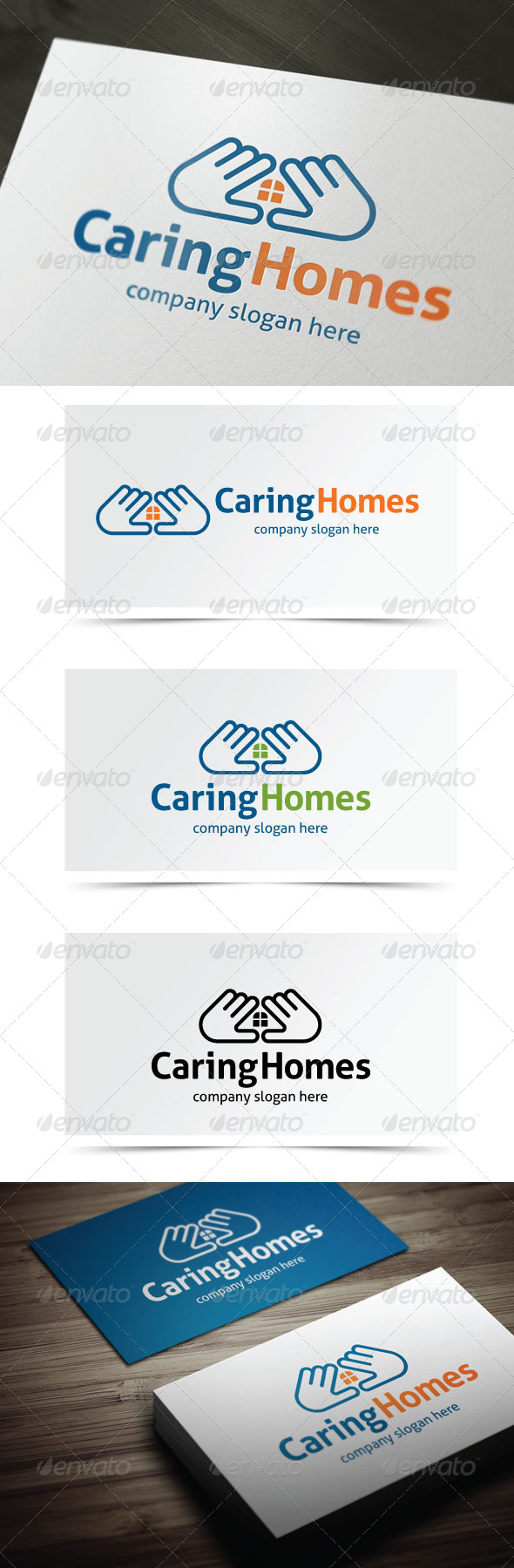 GraphicRiver Caring Homes 5524022