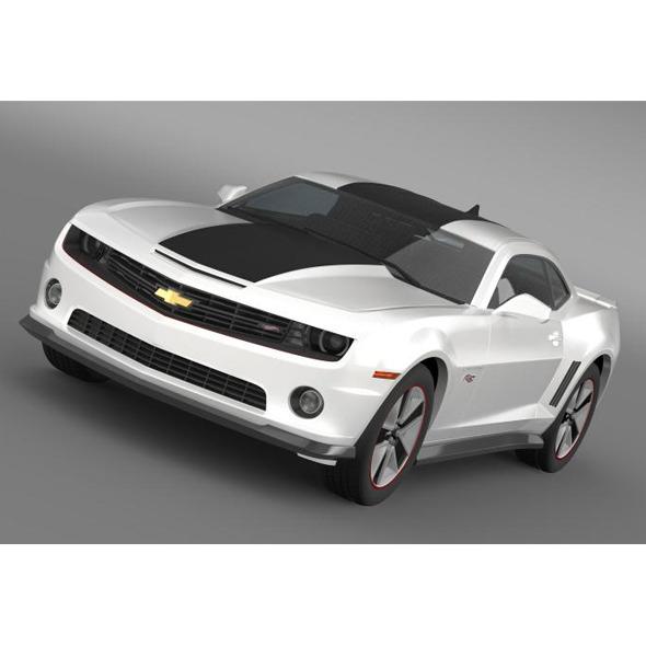 3DOcean Chevrolet Camaro 2013 HotWheels 5524093