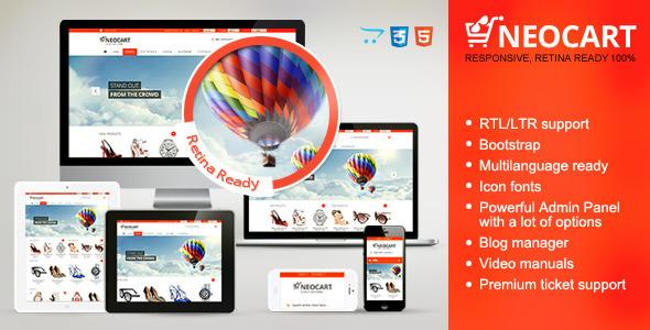 NeoCart - Premium Responsive Retina OpenCart Theme - OpenCart eCommerce
