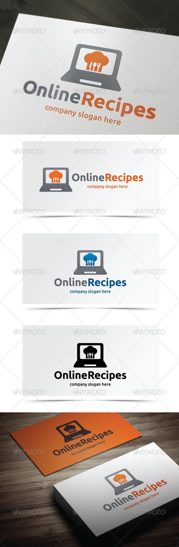 GraphicRiver Online Recipes 5524105