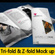 Trifold Brochure Mock-Up - GraphicRiver Item for Sale