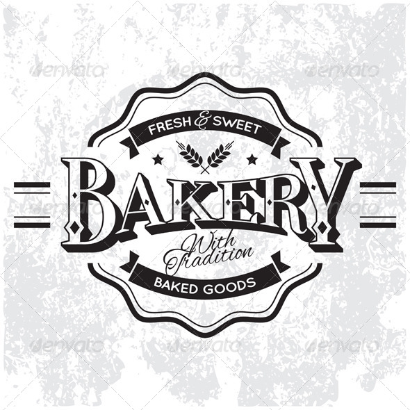 GraphicRiver Bakery Label 5524208