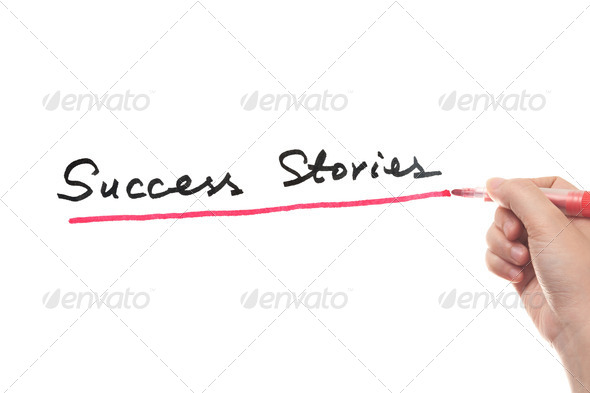 Success stories - Stock Photo - Images