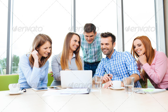 Corporate meeting - Stock Photo - Images