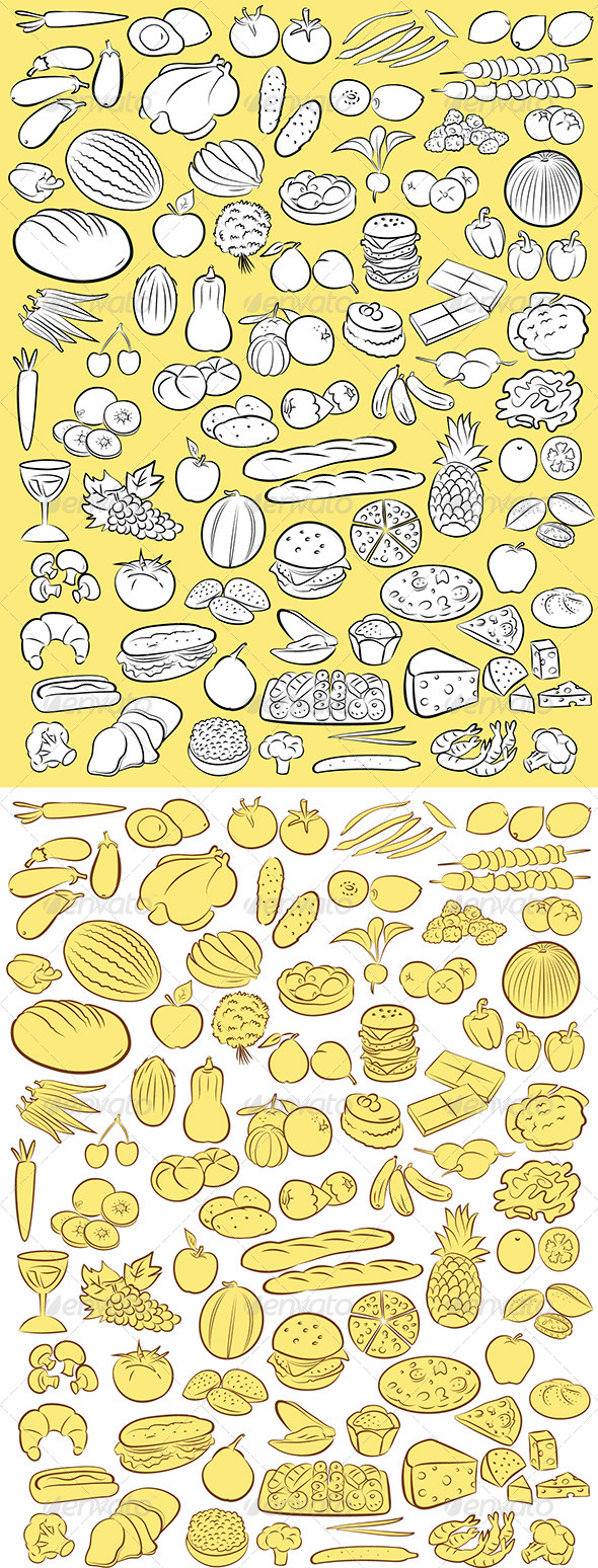 GraphicRiver Foods Vector 5524873