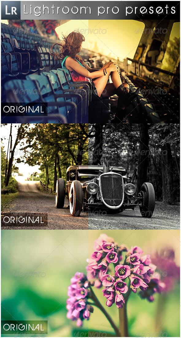GraphicRiver 12 Premium Pro Presets 5525424