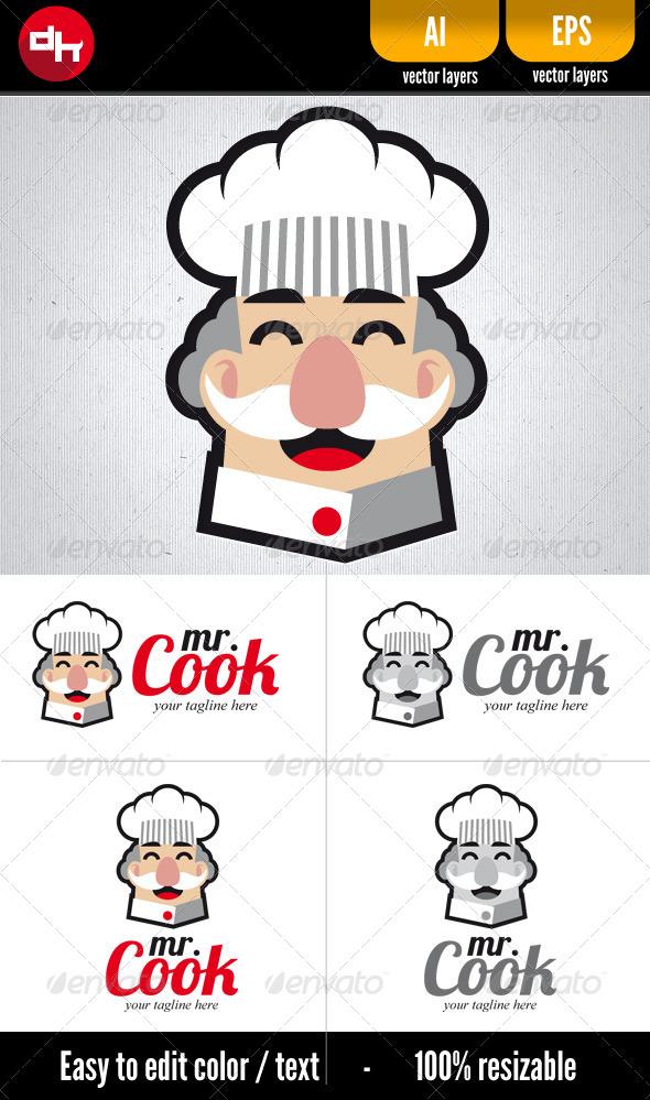 GraphicRiver Mr Cook 5525512