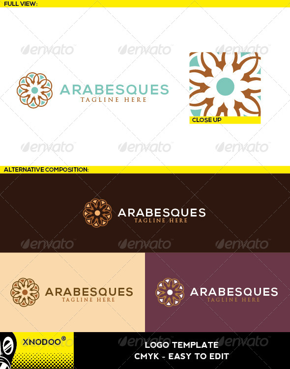 GraphicRiver Arabesques Logo 5525514