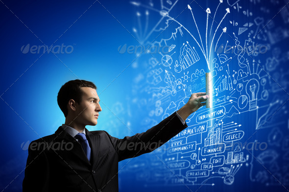 Media technologies - Stock Photo - Images