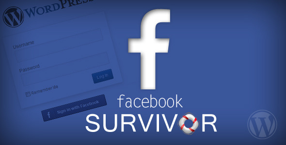 Complete facebook integration Facebook survivor is an essential plugin for any wordpress based websites because it is replacing the old registration way with on