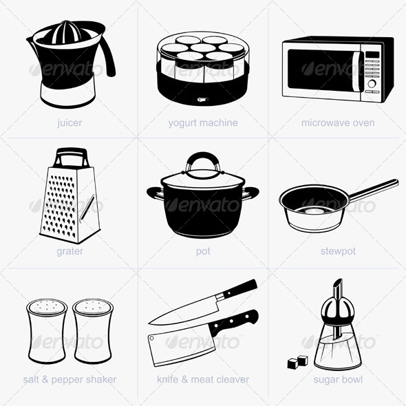 GraphicRiver Kitchen Tools 5526699