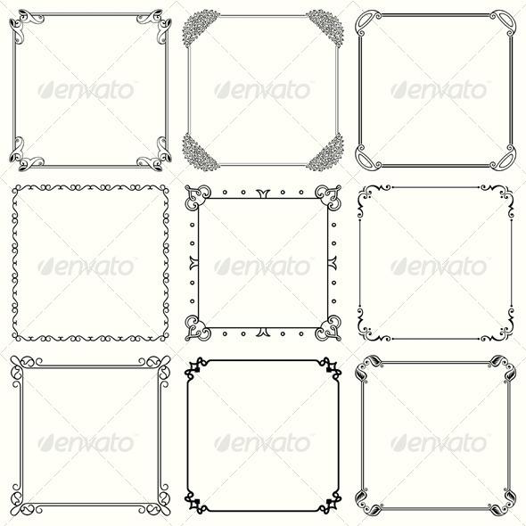 GraphicRiver Decorative Frames 5526865