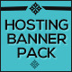 Ultimate Web Hosting Banner Pack - 72 Banners