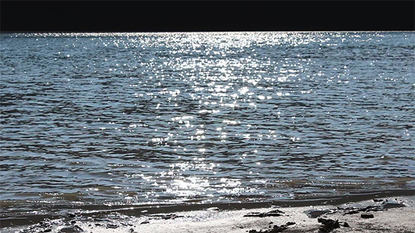 VideoHive Sun Glimpses in Water Lake 5493136