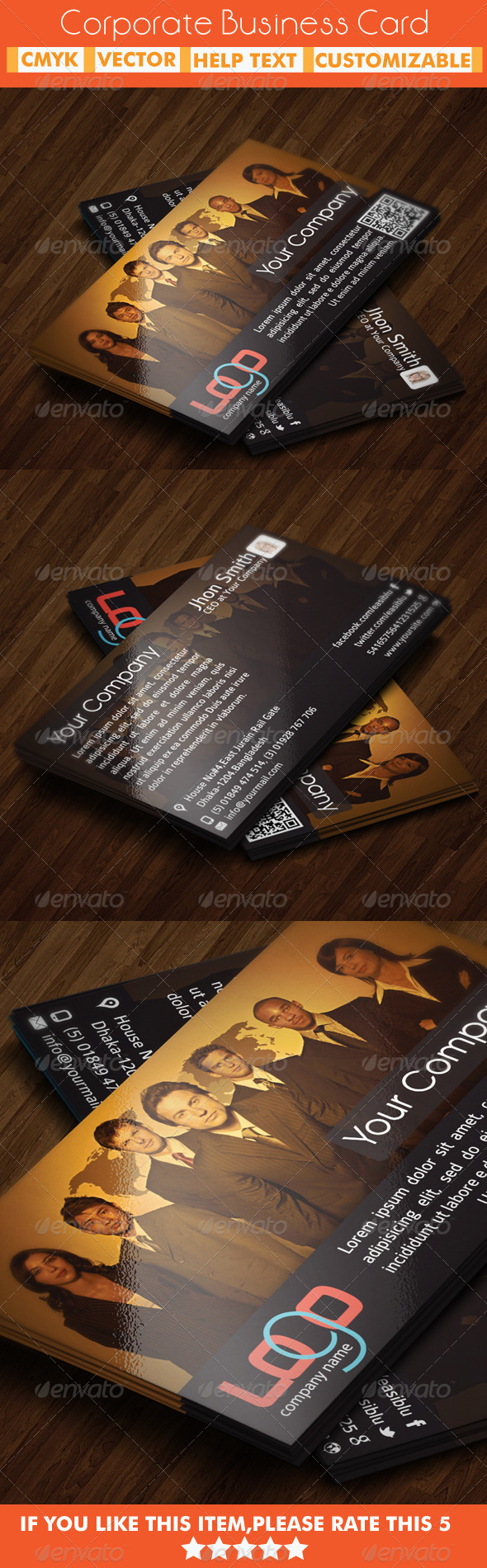 GraphicRiver Corporate Business Card 5438630