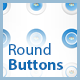 CSS Icon Round Buttons with Hover Effects