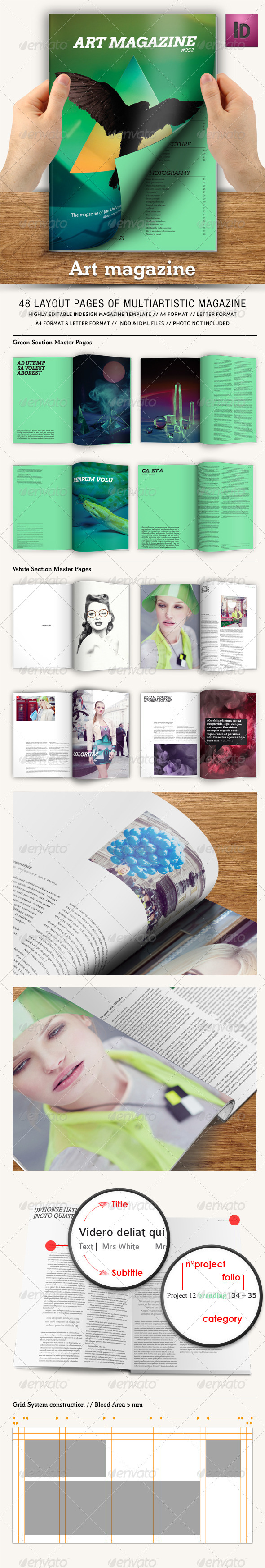GraphicRiver Art Magazine 5528041