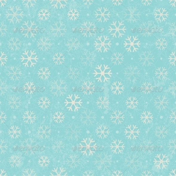 GraphicRiver Seamless Pattern with S nowflakes 5528046