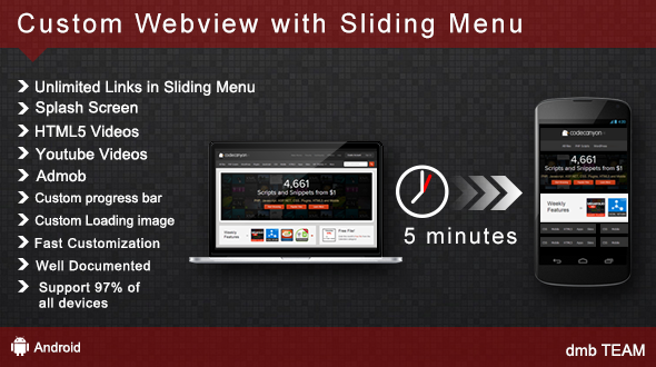 CodeCanyon Custom WebView with Sliding Menu 5528413