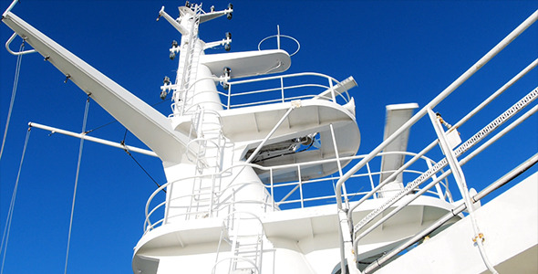 VideoHive Navigation Devices On A Ship Mast 5528713