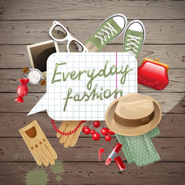 GraphicRiver Fashion Background 5505159