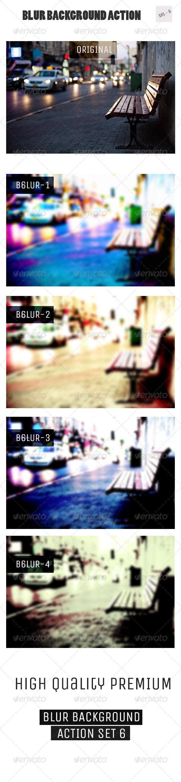 GraphicRiver Blur Background Action Set V6 5529087