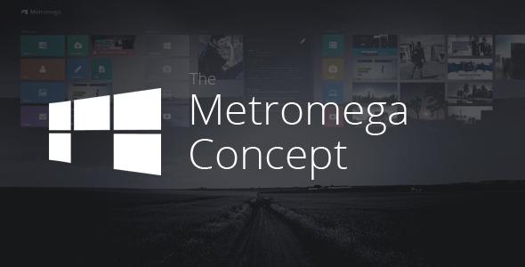 ThemeForest Metromega Responsive HTML5 Metro Template 5497931