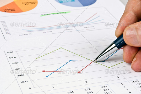 Stock Photo - PhotoDune Financial report 569469