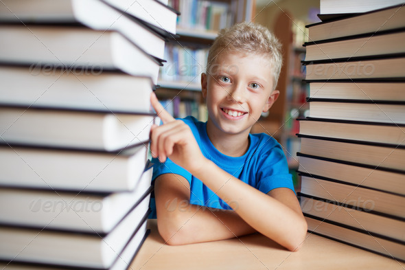 I love books - Stock Photo - Images