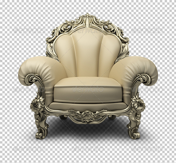 GraphicRiver luxurious armchair 5529939