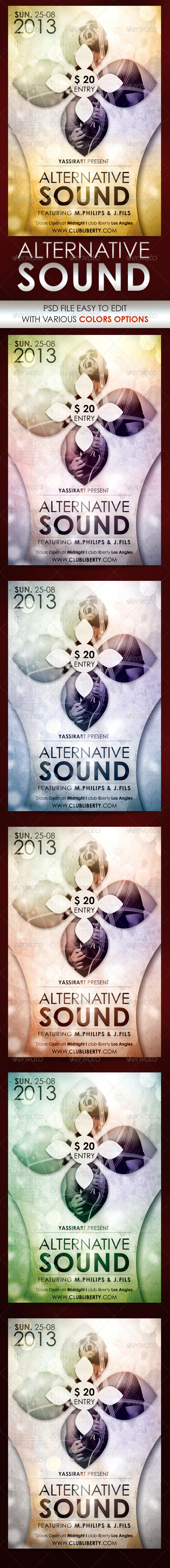 Alternative Sound Flyer Template