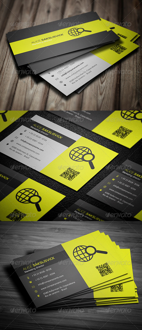 GraphicRiver Corporate Business Card 013 5531267