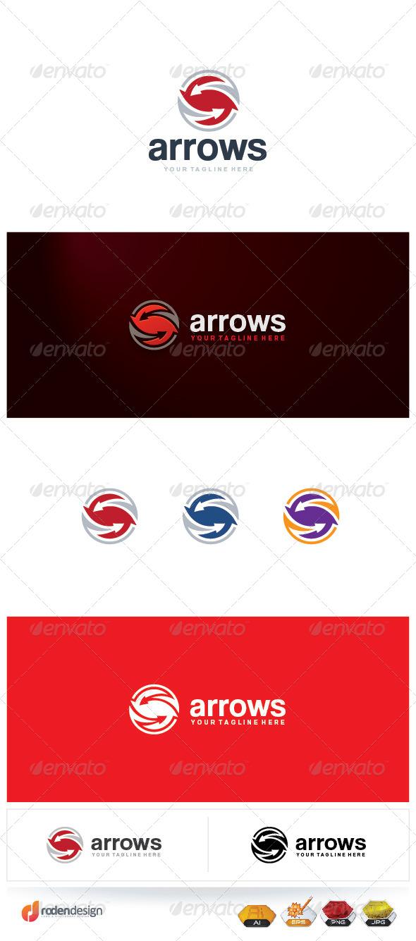 GraphicRiver Arrows Logo 5531317