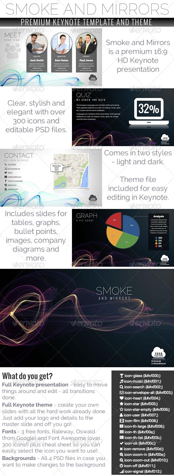 GraphicRiver Smoke and Mirrors Keynote Presentation 5522783