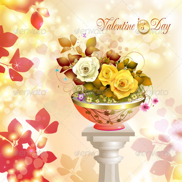 GraphicRiver Valentine s Day Card 5531401